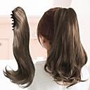 baratos Acessórios para Cabelos-Com Presilha Rabos-de-Cavalo Gradiente de corAlta qualidade Alta qualidade Cores Gradiente Cabelo Sintético Pedaço de cabelo Alongamento