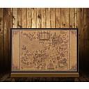 olcso Dekoratív tárgyak-térkép a varázsló világ a harry potter film poszterek díszítése keret nélküli helyreállítása ősi utakat falimatrica