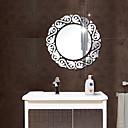 رخيصةأون حلقات الأذن-مرايا أزياء 3D ملصقات الحائط لواصق ملصقات الحائط على المرآة لواصق حائط مزخرفة, أكريليك تصميم ديكور المنزل جدار مائي جدار زجاج / الحمام