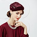 cheap Party Headpieces-Wool / Silk Hats with 1 Wedding / Party / Evening Headpiece
