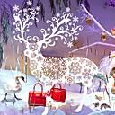 olcso Karácsonyi dekoráció-Dekoratív falmatricák - Repülőgép matricák Állatok / Karácsony / Rajzfilm Nappali szoba / Szabadtéri / Üzletek / Kávézók