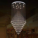 povoljno Viseća rasvjeta-Lusteri Downlight Electroplated Metal Crystal, Bulb Included, dizajneri 110-120V / 220-240V Meleg fehér / Hladno bijela Bulb Included / GU10