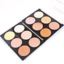 cheap Eyeshadows-colors Face Primer / Powder / Concealer / Contour Dry / Shimmer / Mineral Loose powder Adjustable / Whitening / Long Lasting Face Alcohol Free / Cruelty Free / Formaldehyde Free