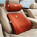 זול שטיחים לפנים הרכב-כריות מותניים לרכב משענת ראש & ערכות מותן כרית עור עבור אוניברסלי כל השנים גנרל מוטורס