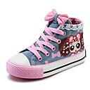 baratos Mochilas Escolares-Para Meninas Sapatos Lona Primavera Conforto Tênis para Azul Escuro / Azul Claro