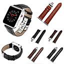 billige Smartur Tilbehør-Urrem for Apple Watch Series 4/3/2/1 Apple Sportsrem Ægte læder Håndledsrem