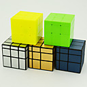 cheap Rubik's Cubes-Rubik's Cube QIYI 154 Mirror Cube 3*3*3 Smooth Speed Cube Magic Cube Puzzle Cube Kid's Adults' Toy Unisex Boys' Girls' Gift