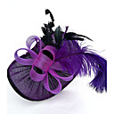 cheap Party Supplies-Net Fascinators / Hats / Birdcage Veils with 1 Wedding / Special Occasion Headpiece