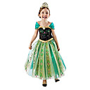cheap Headsets & Headphones-Princess Fairytale Cosplay Costume Movie Cosplay Green Dress Halloween New Year Chiffon Cotton