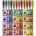 cheap Nail Glitter-1pc Sequins / Glitter Powder / Nail Glitter Mirror Effect / Sparkle & Shine Nail Art Design