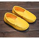 preiswerte Mädchenschuhe-Mädchen Schuhe Kunstleder Frühling / Herbst Komfort Loafers & Slip-Ons für Gelb / Blau / Rosa