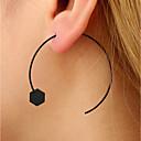 olcso Divat fülbevalók-Női Beszúrós fülbevalók Francia kapcsos fülbevalók - Személyre szabott, Divat Fekete Kompatibilitás Hétköznapi Klub