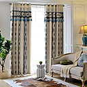 cheap Kitchen Tools-Curtains Drapes Bedroom Stripe Yarn Dyed