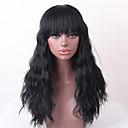 ieftine Peruci Dantelă Sintetice-Păr Natural Ondulat cald Vânzare Lung Realizat la mașină Perucă Pentru femei