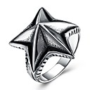 cheap Men's Bracelets-Men's Statement Ring - Stainless Steel Starfish Fashion, Hip-Hop, Oversized Jewelry Silver For Party Holiday 8 / 9 / 10 / 11 / 12