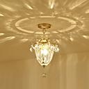 olcso Süllyesztett-3-Light Mennyezeti lámpa Háttérfény Festett felületek Fém Kristály 110-120 V / 220-240 V Meleg fehér Az izzó nem tartozék