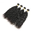 tanie Obrazy: motyw zwierzęcy-4 zestawy Włosy peruwiańskie Naturalne fale Włosy remy Człowieka splotów włosów Ludzkie włosy wyplata Ludzkich włosów rozszerzeniach