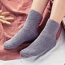 זול אביזרים ל-MacBook-בגדי ריקוד גברים חם מאוד גרביים אחיד אחרים עור כבשים, חמישה פנלים אפור כהה אפור בהיר