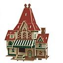 tanie Modele i zestawy modeli-Zabawki 3D / Puzzle / Model Bina Kitleri Domy / Moda / Dom Dzieci / Nowy design / Gorąca wyprzedaż 1 pcs Klasyczny / Nowoczesny / Moda Dla dzieci Prezent