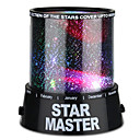 cheap Birthday Home Decorations-Starry Night Light / Star Light / LED Lighting Star Light Projector / Colorful Twilight Plastic / ABS Boys' Gift