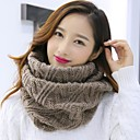 cheap Earrings-Women's Basic Infinity Scarf - Solid Colored / Fall / Winter