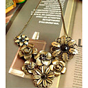 cheap Necklaces-Women's Statement Necklace / Y Necklace - Flower Gold Necklace For Party / Evening, Daily, Casual