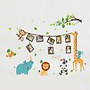 preiswerte Wand-Sticker-Tiere Mode Cartoon Design Wand-Sticker Flugzeug-Wand Sticker Dekorative Wand Sticker Foto Sticker, Vinyl Haus Dekoration Wandtattoo Wand
