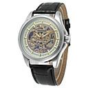 povoljno Sensori-WINNER Muškarci Ručni satovi s mehanizmom za navijanje Hollow graviranje Nehrđajući čelik Grupa Vintage / Ležerne prilike / Moda Srebro / Automatski