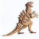 tanie Modele i zestawy modeli-Zabawki 3D Puzzle Model Bina Kitleri Domy Moda Dinozaur Dzieci Nowy design Gorąca wyprzedaż 1 pcs Klasyczny Nowoczesny Moda Dla dzieci Zabawki Prezent