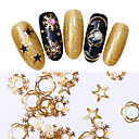 cheap Nail Jewelry-1 pcs Metallic / Fashion / Christmas Decals Nail Art Design Daily