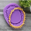olcso Sütőeszközök-Bakeware eszközök Silica Gel Szabadság / Születésnap / Újévi Candy Kör süteményformákba 1db