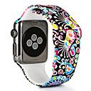baratos Smartwatch Acessórios-Pulseiras de Relógio para Apple Watch Series 4/3/2/1 Apple Pulseira Esportiva Silicone Tira de Pulso