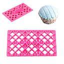 billige Bakeredskap-butterfly bow bowknot quilt fondant firkantet cutter gitter kake cupcake preging verktøy punkt