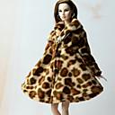 hesapli Barbie İçin Kıyafetler-Günlük Daha Fazla Aksesuarlar İçin Barbie Bebek Polar Kumaş Top İçin Kız Oyuncak bebek
