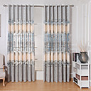 povoljno Prozorske zavjese-suvremene zavjese zastori dvije ploče dnevni boravak / spavaća soba vez
