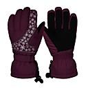 preiswerte Handschuhe-Skihandschuhe Unisex Vollfinger warm halten Beschichtung Skifahren Wandern Outdoor Übungen Winter