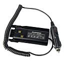abordables Talkie-walkie-baofeng uv-82 talkie walkie voiture chargeur batterie éliminateur adaptateur pour baofeng uv-82 uv82 uv-82l uv82l radio-amateur