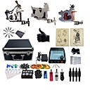 billige profesjonelle tatovering kits-BaseKey Tattoo Machine Profesjonell Tattoo Kit, 3 pcs tattoo maskiner - 3 x stål tatoveringsmaskin til lining og skyggelegging