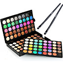 cheap Eye Kits & Palettes-Eyeshadow Palette Makeup Brushes Eyeshadow Brush Ammonia Free Formaldehyde Free Makeup Dry Matte Shimmer Long Lasting 120 Colors Cosmetic Grooming Supplies