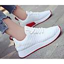 cheap Women's Sneakers-Women's Shoes Breathable Mesh / PU(Polyurethane) Spring / Fall Comfort Sneakers White / Black / Pink