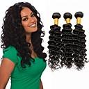 tanie Dopinki w naturalnych kolorach-6 pakietów Włosy brazylijskie Deep Wave Włosy naturalne remy Fale w naturalnym kolorze Ludzkie włosy wyplata Ludzkich włosów rozszerzeniach Damskie