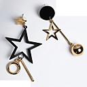 preiswerte Modische Broschen-Damen Nicht übereinstimmend Unterschiedliche Ohrringe - Elegant Gold Für Geschenk / Ausgehen