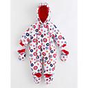 preiswerte Babyoverall-Baby Mädchen Muster Langarm Baumwolle Anzug & Overall