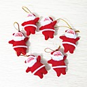 cheap Christmas Decorations-6pcs Christmas Decorations Christmas Ornaments, Holiday Decorations 10.0*10.0*3.0