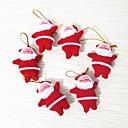 ieftine Christmas Decorations-6pcs Crăciun Ornamente de crăciun, Decoratiuni de vacanta 10.0*10.0*3.0