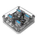 olcso Beltéri IP hálózati kamerák-ORICO 4 USB Hub Micro USB Type A USB 3.0 Nagy sebesség Adatközpont