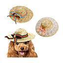 tanie Pielęgnacja psów-Kot / Pies Bandany i kapelusiki Ubrania dla psów Kokarda Zielony / Różowy / Tęcza Inny materiał Kostium Dla zwierząt domowych Nowe / Sznurki / Warkocze / Odpoczynek