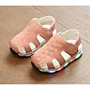 halpa Tyttöjen kengät-Tyttöjen Kengät Tekonahka Kesä Comfort Sandaalit varten Keltainen / Armeijan vihreä / Pinkki