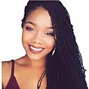 זול צמות שיער-שיער קלוע האחות לוקס מיקרו לוקס צמות סרוגות טרום לולאה 100% שיער קנקלון Kanekalon 1 80 שורשים / Pack שיער צמות בינוני רך מעצבים צמות אפריקאיות
