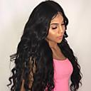 tanie Taśmy świetlne LED-Włosy remy 360 Frontal Peruka Włosy brazylijskie Luźne fale Peruka Z baby hair 150% Naturalna linia włosów Damskie Krótki / Medium / Długo Peruki z włosów ludzkich